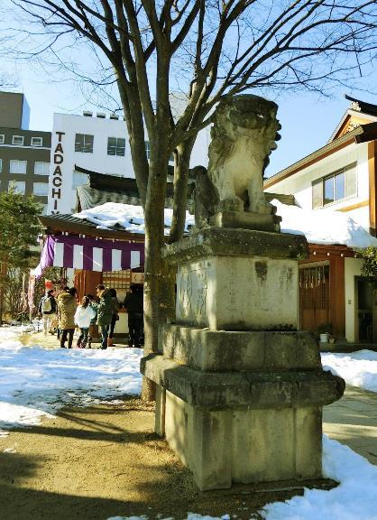 長野県松本市大手3-3-20_四柱神社_松本式狛犬 (1)