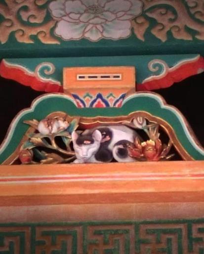 日光東照宮_眠り猫  (5)