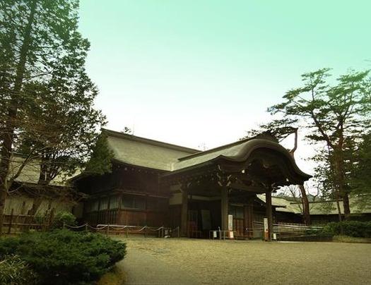 日光田母沢御用邸記念公園_御車寄 (2)