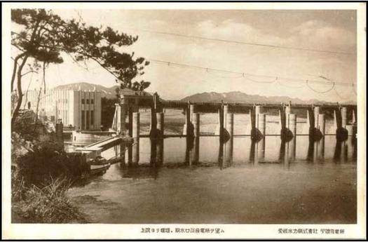 戦前絵葉書_今渡発電所 (3)