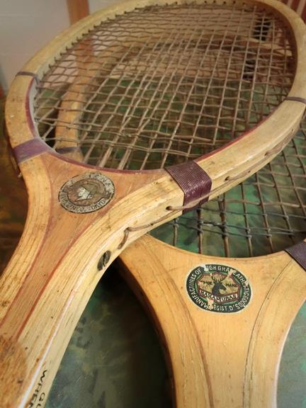 戦前のテニスラケット_丸善と中村商店 (5)