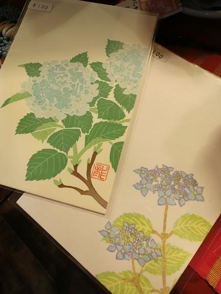 花園商店の紫陽花雑貨 (2)