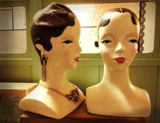 花園商店_モダンガールのヘッドマネキン (7)