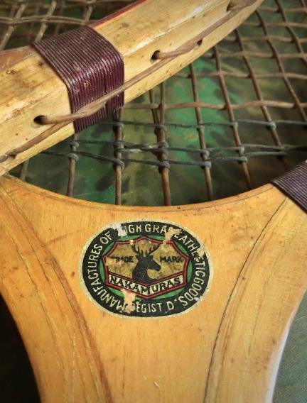 戦前のテニスラケット_丸善と中村商店 (6)