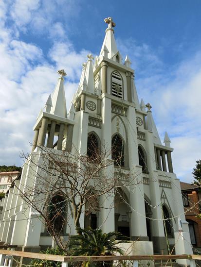 伊王島の馬込教会  (1)