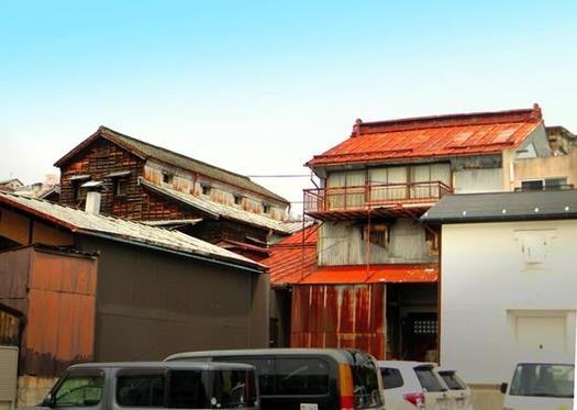 諏訪の赤い屋根 (3)