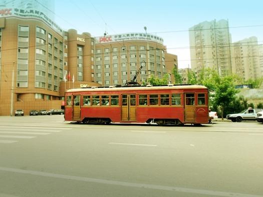 大連の路面電車 (4)