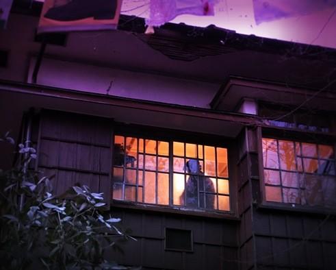 旧高田邸の夕暮れ (1)