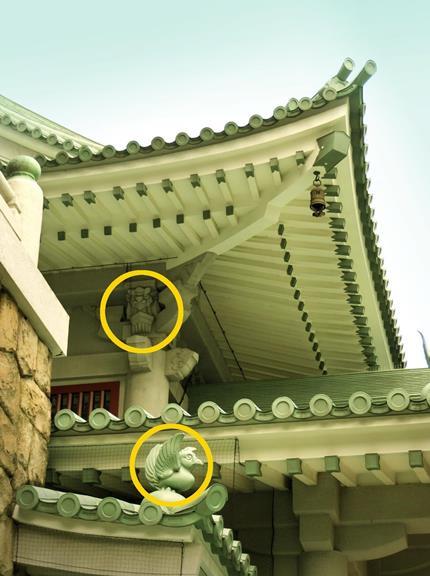 東京都墨田区横網_東京都慰霊堂_トラと鳥