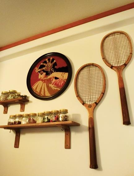 戦前のテニスラケット_丸善と中村商店 (1)