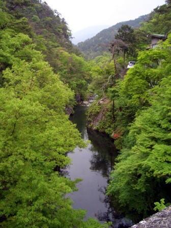 長潭橋からの景色