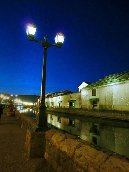 夜の小樽運河 (5)