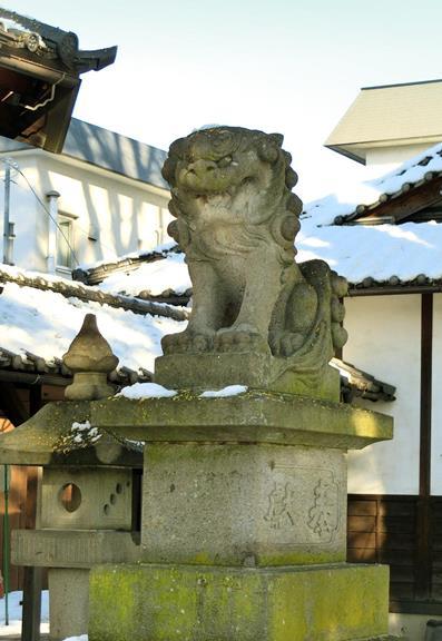 長野県松本市丸の内10-37_松本神社_松本式狛犬 (1)
