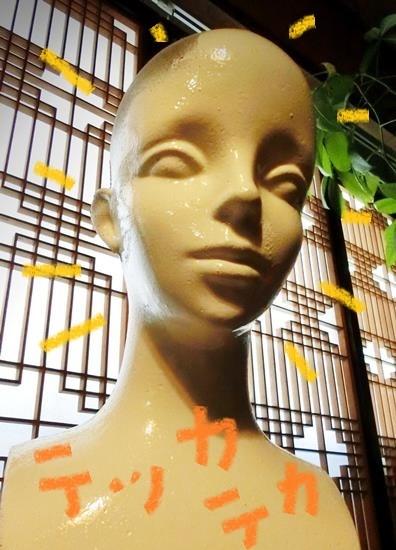 花園商店_モダンガールのヘッドマネキン (3)