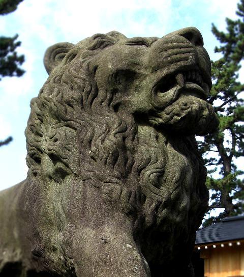 諏訪松波神社