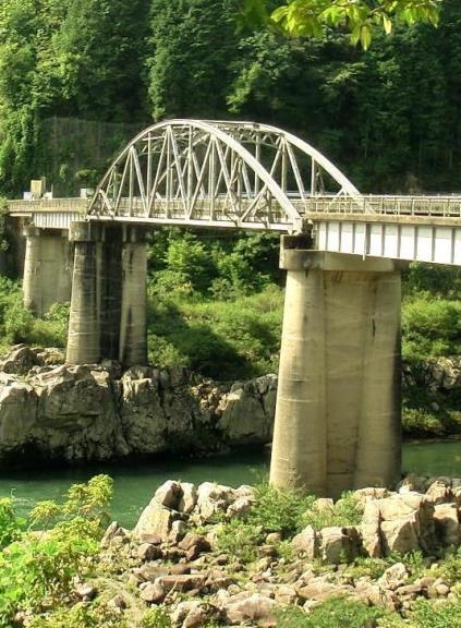 岐阜県恵那市笠置町毛呂窪_大井発電所_東雲橋 (2)
