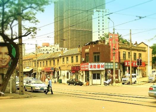 路面電車と東関街 (4)