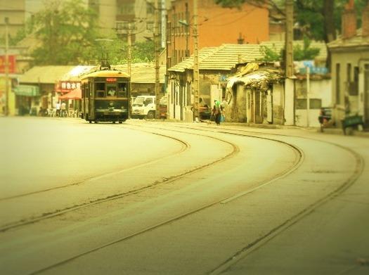大連の路面電車 (1)