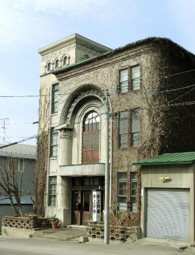 小樽市住ノ江_モダンな建物 (3)