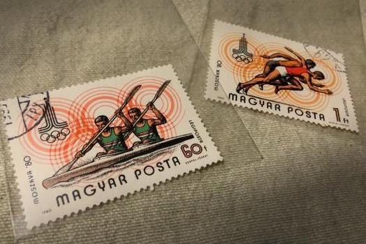 オリンピック切手 (1)