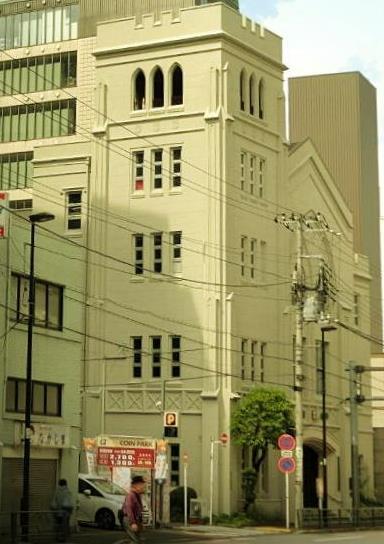 東京都文京区本郷3-37-9_日本基督教団本郷中央教会 _中央会堂 (3)