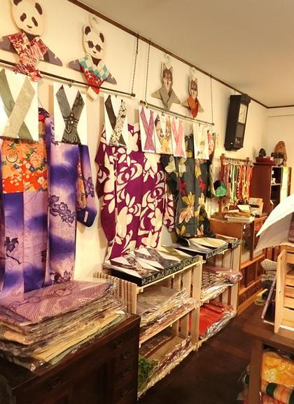 花園商店の着物コーナー201706 (1)