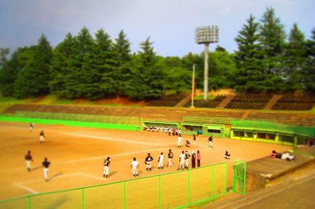 上田城跡公園市営野球場200804 (6)