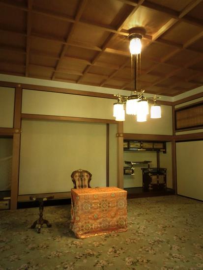 日光田母沢御用邸記念公園_謁見所 (2)