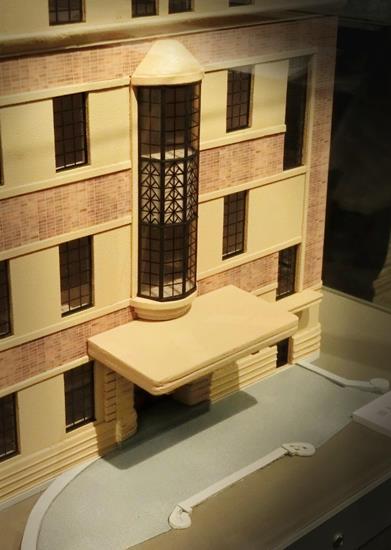 旧上伊那図書館の模型 (1)