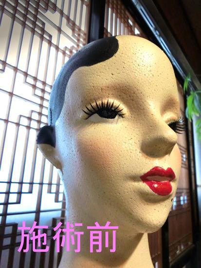 花園商店_モダンガールのヘッドマネキン (1)