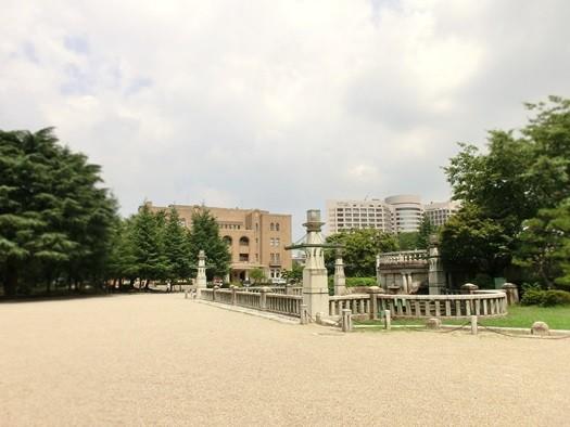 20140902鶴舞公園_噴水塔 (2)