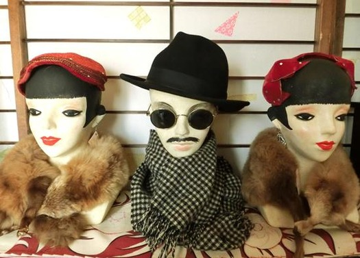 花園商店_モダンガールのヘッドマネキン (5)