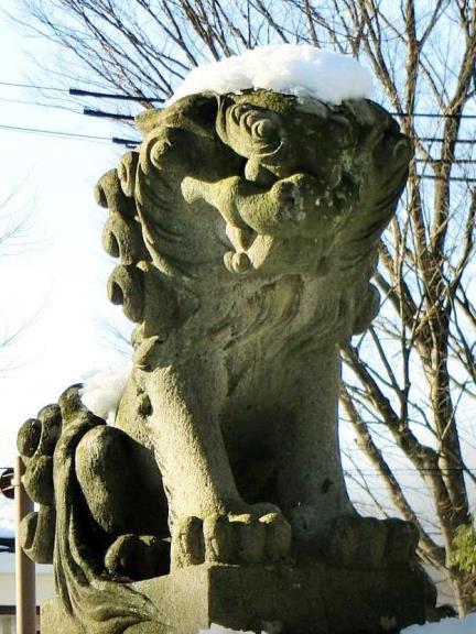 長野県松本市丸の内10-37_松本神社_松本式狛犬 (6)