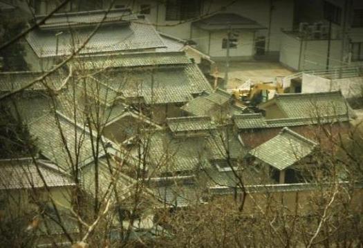 塩尻浄水道座摩浄水池からの眺め (1)