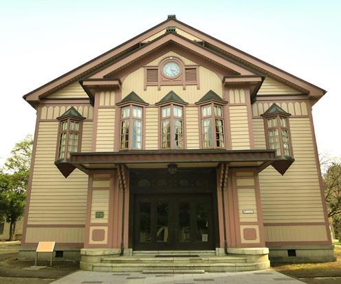 旧上田蚕糸専門学校講堂 (3)