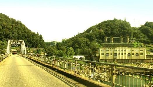 岐阜県恵那市笠置町毛呂窪_大井発電所_東雲橋 (4)