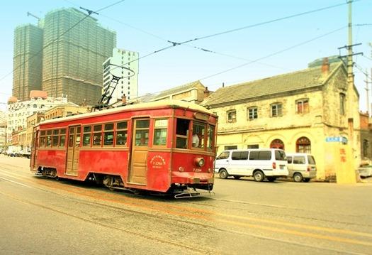 大連の路面電車 (2)