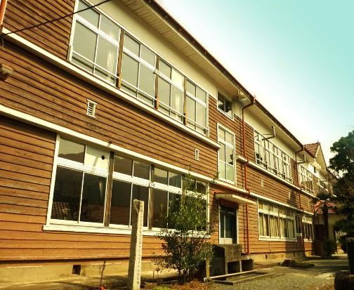 群馬県みどり市東町花輪 旧花輪小学校記念館 (2)