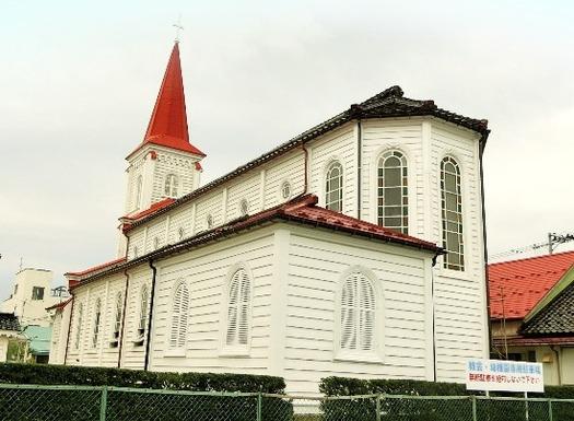 山形県鶴岡市_鶴岡カトリック教会天主堂 (2)
