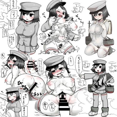 【艦これ】あきつ丸の二次エロ画① 100枚-020