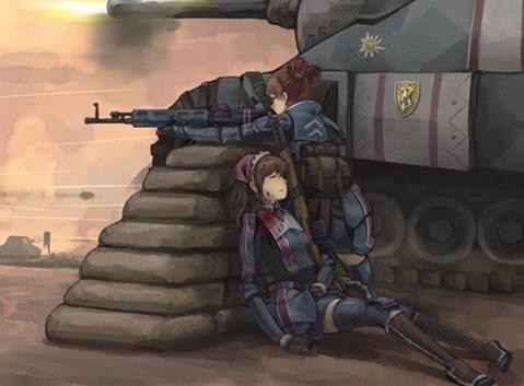軍服を着た女の子の二次エロ画像 113