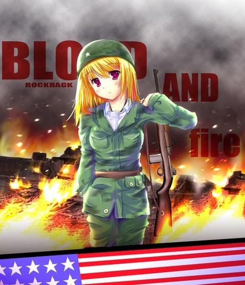 軍服を着た女の子の二次エロ画像 148