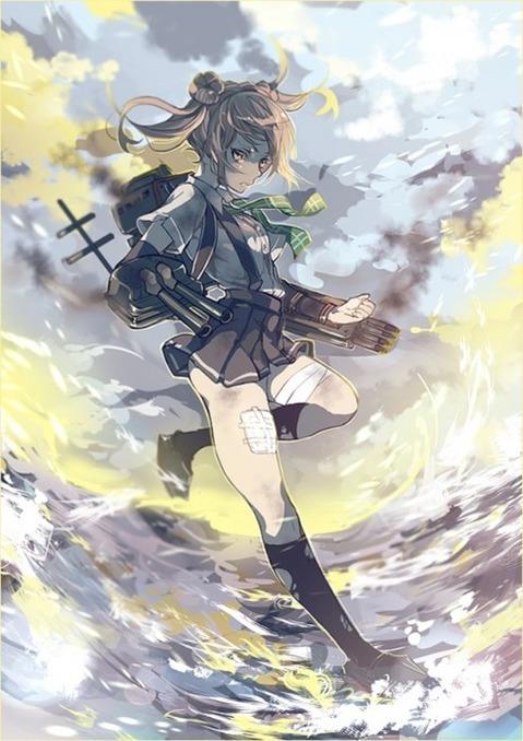 【艦これ】満潮の二次エロ画像 065