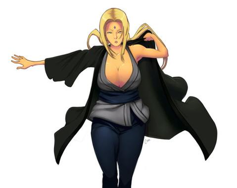 【NARUTO】綱手のエロ画像 100枚₋004
