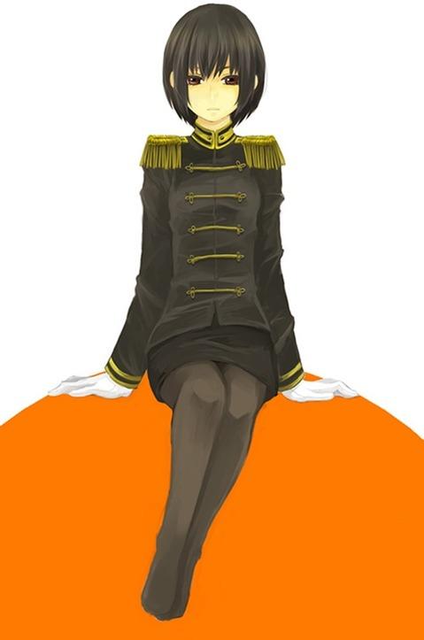 軍服を着た女の子の二次エロ画像 226