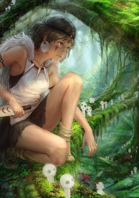 ジブリに出てくる女の子の二次エロ画像① 100枚-053