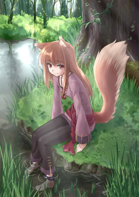 【狼と香辛料】ホロの二次エロ画像① 100枚-035