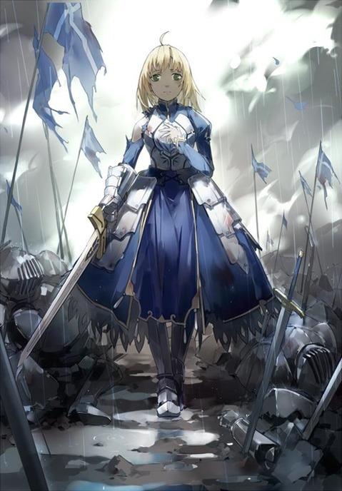 【Fate】セイバーの二次エロ画⑤ 100枚-048