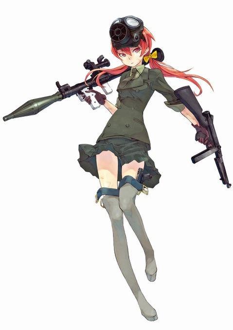 軍服を着た女の子の二次エロ画像 096