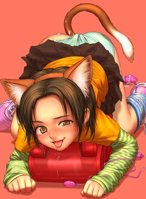 アナルから尻尾の生えた女の子の二次エロ画像① 100枚-077